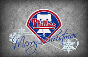Phillies Greeting Cards Prints - Philadelphia Phillies Print by Joe Hamilton