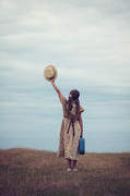 Braids Photo Prints - Refugee Girl Print by Joana Kruse