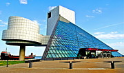 Hall Of Fame Art - Rock and Roll Hall of Fame by Robert Harmon