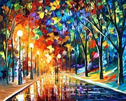 Leonid Afremov - Romantic Evening