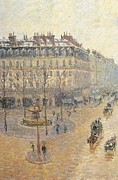 Camille Pissarro Framed Prints - Russia, Moscow, Pushkin Museum. Detail Framed Print by Everett