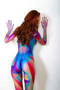 Bodypaint Framed Prints - Russian Treat Framed Print by Models In The Wild