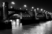 Southwark Bridge Prints - Southwark Bridge London Print by David Pyatt