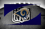 Rams Framed Prints - St Louis Rams Framed Print by Joe Hamilton