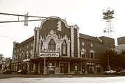 Indiana Photography Posters - Terre Haute - Indiana Theater Poster by Frank Romeo