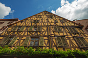 Riquewihr Prints - The historical village Riquewihr in the Alsace Print by Jan Marijs