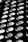 Typewriter Photos - Typewriter keys by Falko Follert