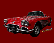 Chas Sinklier - 60 Red Corvette