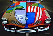 Peter Max Prints - 60s Wild Ride Print by Mary Machare