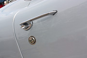 61 Corvette-grey-door Handle-9268 Print by Gary Gingrich Galleries