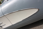 61 Corvette-grey-sidepanel-9244 Print by Gary Gingrich Galleries