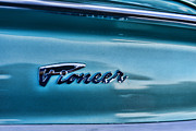 Retro Car Photos - 61 Dodge Pioneer Emblem  by Paul Ward
