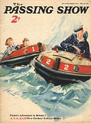 Nautical Drawings - 1930s,uk,the Passing Show,magazine Cover by The Advertising Archives