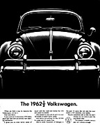 Vw Beetle Framed Prints - 62 And A Half Framed Print by Benjamin Yeager