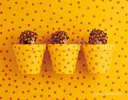 Orange Photo Prints - Untitled Print by Anne Geddes