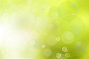 Green Color Art - Abstract background by Les Cunliffe