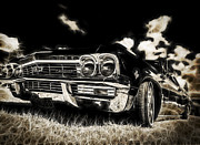5dmk3 Photo Framed Prints - 65 Chev Impala Framed Print by motography aka Phil Clark