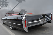 Garage Wall Art Posters - 66 Cadillac Conv Poster by Bill Dutting