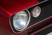 67 Camaro Ss Headlight-8724 Print by Gary Gingrich Galleries