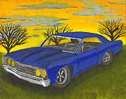 Chevelle Paintings - 67 by Seth Miller