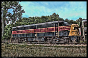 1420 Framed Prints - 6767 Engine Dead for 20 Years Framed Print by Duane Loya