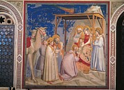 Three Wise Men Prints - Italy, Veneto, Padua, Scrovegni Chapel Print by Everett