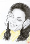 King Of Pop Prints - Michael Jackson Print by Eliza Lo