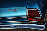 Cars Art - 69 Chevelle by Gordon Dean II