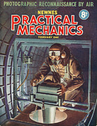 1940s Drawings Framed Prints - 1940s Uk Practical Mechanics Magazine Framed Print by The Advertising Archives