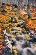 Natural World Paintings - Abruzzo National Park by George Atsametakis