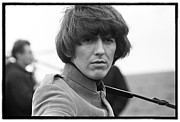 Beatles Photo Posters - Beatles HELP George Harrison Poster by Emilio Lari
