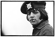 The Beatles Photo Metal Prints - Beatles HELP Ringo Starr Metal Print by Emilio Lari