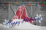 Boston Sox Photo Prints - Boston Red Sox Print by Joe Hamilton