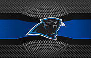 Panthers Prints - Carolina Panthers Print by Joe Hamilton