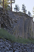 Devils Postpile Photos - Devils Postpile National Monument by Jason O Watson