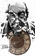 Digital Art - Er Ink Print by Enache  Radu