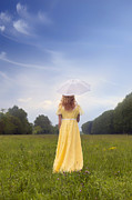 Woman Photos - Girl On Meadow by Joana Kruse