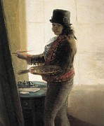 In The Studio Prints - Goya Y Lucientes, Francisco De Print by Everett