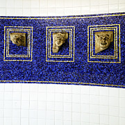 Subway Art Art - Historic NYC Architectural Elements by Natasha Marco