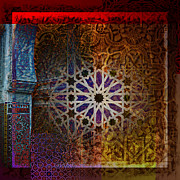Greeting Cards Art - Islamic Motives by Corporate Art Task Force
