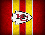 Chiefs Posters - Kansas City Chiefs Poster by Joe Hamilton