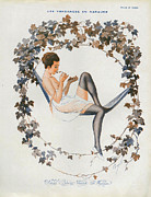 Nineteen-tens Art - La Vie Parisienne  1916 1910s France Cc by The Advertising Archives