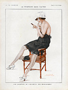 Nineteen-tens Art - La Vie Parisienne  1918 1910s France Cc by The Advertising Archives