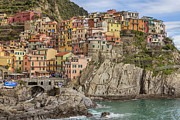 House.houses Framed Prints - Manarola Framed Print by Joana Kruse
