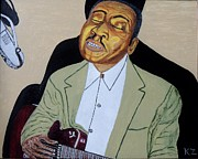 Ken Zabel Metal Prints - Mannish boy. Muddy Waters. Metal Print by Ken Zabel