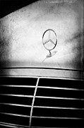 Collector Hood Ornament Posters - Mercedes-Benz Hood Ornament Poster by Jill Reger