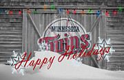 Minnesota Twins Prints - Minnesota Twins Print by Joe Hamilton