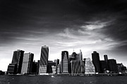 New York City Skyline Framed Prints - New York City Framed Print by Vivienne Gucwa