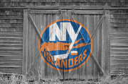 Skate Photos - New York Islanders by Joe Hamilton