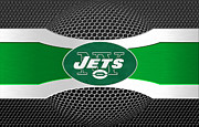 Offense Framed Prints - New York Jets Framed Print by Joe Hamilton